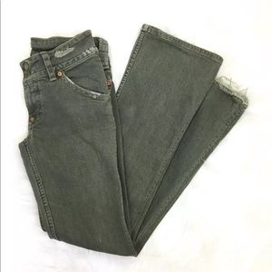 Hudson Distressed jeans green